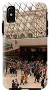Inside Louvre Museum Pyramid IPhone X Tough Case