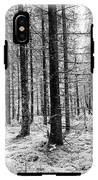 Into The Monochrome Woods IPhone X Tough Case
