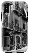 Italian Street In Black And White IPhone X Tough Case