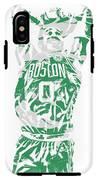Jayson Tatum Boston Celtics Pixel Art 12 IPhone X Tough Case