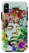 Jimmy Hendrix Watercolor IPhone X Tough Case