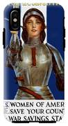 Joan Of Arc Saved France - Save Your Country IPhone X Tough Case