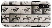 Jockey On A Galloping Horse IPhone X Tough Case