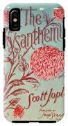 Joplin: Chrysanthemum IPhone X Tough Case