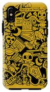 Just Halloweeny Things V5 IPhone X Tough Case