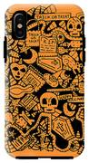 Just Halloweeny Things V7 IPhone X Tough Case
