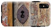 Key Hole IPhone X Tough Case