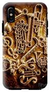 Keys Of A Symphonic Orchestra IPhone X Tough Case