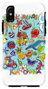Kia Orana Cook Islands IPhone X Tough Case