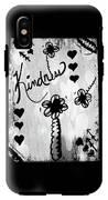 Kindness IPhone X Tough Case