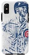 kris bryant CHICAGO CUBS PIXEL ART 2 IPhone X Tough Case