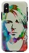 Kurt Cobain Nirvana IPhone X Tough Case