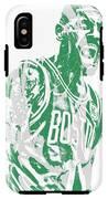 Kyrie Irving Boston Celtics Pixel Art 42 IPhone X Tough Case