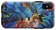 la flautista III IPhone X Tough Case