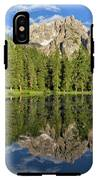 Lake Antorno IPhone X Tough Case