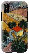 Landscape With House And Ploughman IPhone X Tough Case