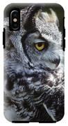 Lazy Owl IPhone X Tough Case