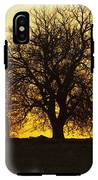 Leafless Tree Against Sunset Sky IPhone X Tough Case