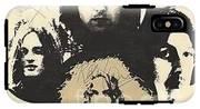 Led Zeppelin Autographed Album  IPhone X Tough Case
