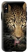 Leopard In The Dark IPhone X Tough Case