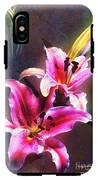 Lilies At Night IPhone X Tough Case