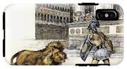 Lion & Gladiator IPhone X Tough Case