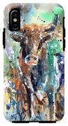 Longhorn Steer IPhone X Tough Case