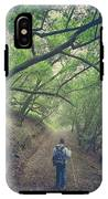 Look Around You IPhone X Tough Case