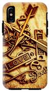 Love Charms In Romantic Signs And Symbols IPhone X Tough Case