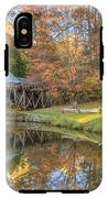 Mabry Mill. Blue Ridge Parkway IPhone X Tough Case