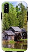 Mabry Mill In The Springtime On The Blue Ridge Parkway  IPhone X Tough Case
