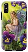 Magical Pansies IPhone X Tough Case