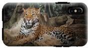 Majestic Leopard IPhone X Tough Case