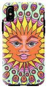 Peacock Sunburst IPhone X Tough Case