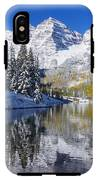 Maroon Lake And Bells 2 IPhone X Tough Case