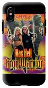 Max Hell Frog Warrior IPhone X Tough Case