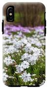 Meadow With Flowers At Botanic Garden In The Blue Mountains IPhone X Tough Case