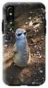 Meerkat Responding IPhone X Tough Case