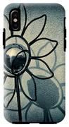 Metal Flower IPhone X Tough Case
