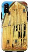 Michigan Barn IPhone X Tough Case