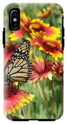 Monarch On Blanketflower IPhone X Tough Case