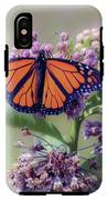 Monarch On The Milkweed IPhone X Tough Case