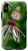 Monarched Coneflower IPhone X Tough Case