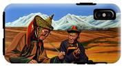 Mongolia Land Of The Eternal Blue Sky IPhone X Tough Case