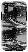 Monochrome Spiral IPhone X Tough Case
