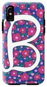 Monogram B IPhone X Tough Case