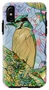Mosaic Of Blue Jay IPhone X Tough Case