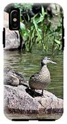 Mother Duck With Juveniles IPhone X Tough Case