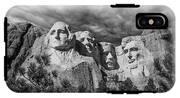 Mount Rushmore II IPhone X Tough Case