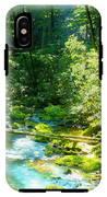 Mountain Stream IPhone X Tough Case
